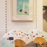 '13夏 紙製品と原画展示