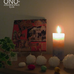 水晶と雪の世界candle night