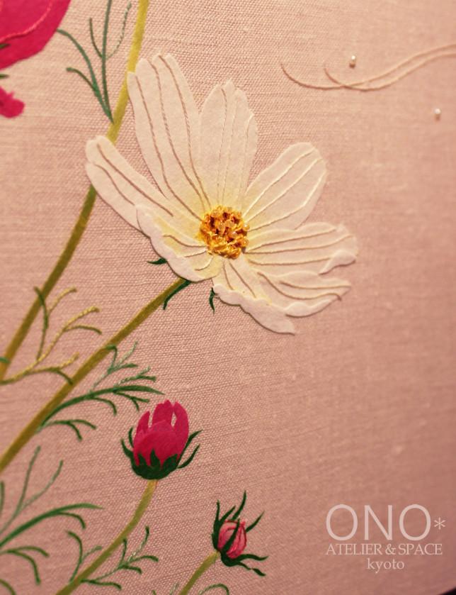 コラージュ 秋桜