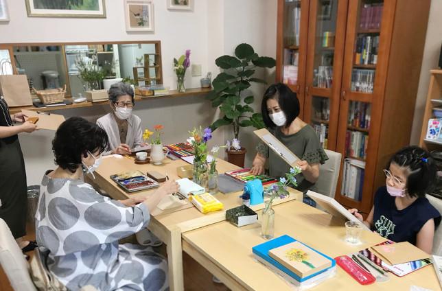 アトリエ セン 色鉛筆画教室